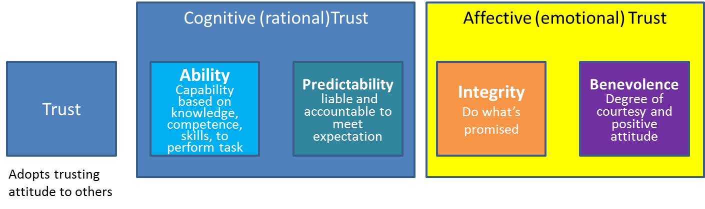 Mayer trust model